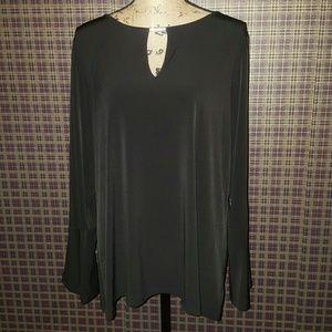 Michael Kors Gold Feature Black blouse